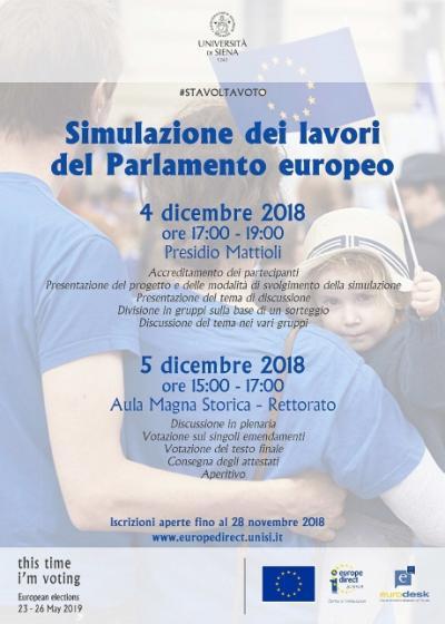 Simulazione Parlamento Europeo