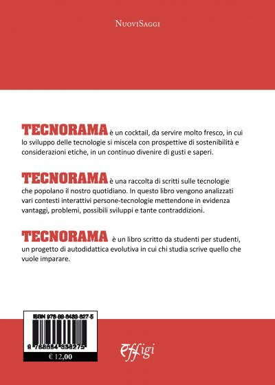 Quarta di copertina Tecnorama