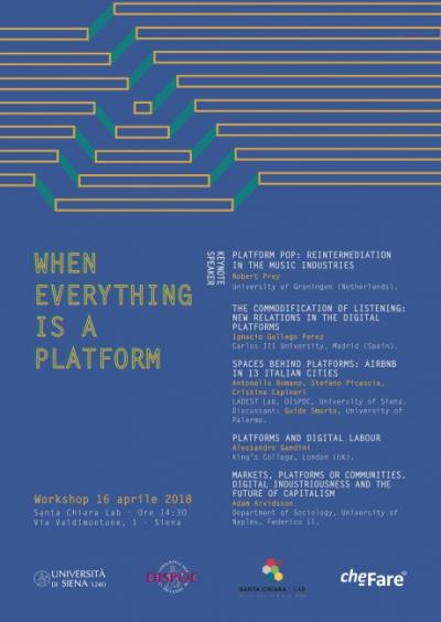 When Everything is a platform